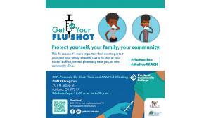 REACH-Get Your Flu Shot-General/PCC Flu Clinic
