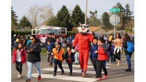 Safe Routes to School walking to school