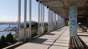 View of Multnomah County Central Courthouse Project structural support system or curtain wall.
