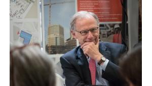 Oregon's 43rd Chief Justice Thomas Balmer was one of the guests and speakers at Tuesday's event