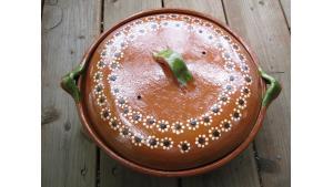 Mexican bean pot