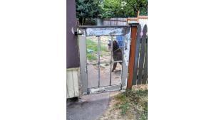 old window garden gate