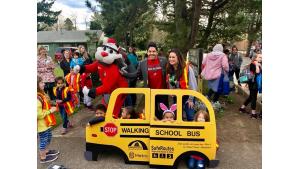 Safe Routes to School with Portland Trailblazers' Blaze