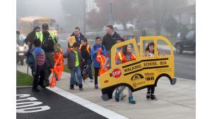 Safe Routes to School Sheriff escort