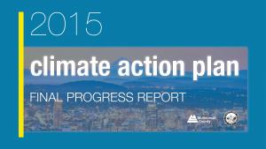 2015 Climate Action Plan Progress Report Cover Image adapted for website