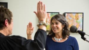 Commissioner Sharon Meieran Swearing-In