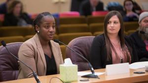 Charlene McGee, the state's refugee health coordinator