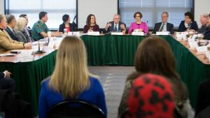 County leaders meet with federal lawmakers, community advocates on immigration raids and sensitive locations