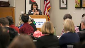 Commissioner Sharon Meieran is leading a push to define and improve the county's mental health services