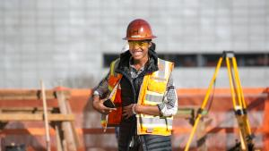 The County and the general contractor for the project, Hoffman Construction, set specific diversity and equity goals and built a diverse team of subcontractors.