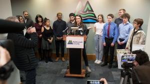 Climate change plaintiff Kelsey Juliana called Oregon's climate change goals toothless