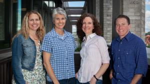 Multnomah County needs help fighting the spread of HIV. From left, epidemiologist Taylor Pinsent, Communicable Disease Director Kim Toevs, Health Officer Dr. Jennifer Vines and investigation lead Jaxon Michell
