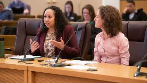 Public Health Director Rachael Banks details more than a decade of tobacco prevention, asks Board to consider flavor ban.