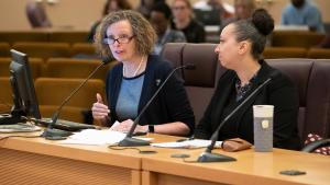 Senior policy analyst Liz Smith-Currie lays out legal options to restrict flavored nicotine products