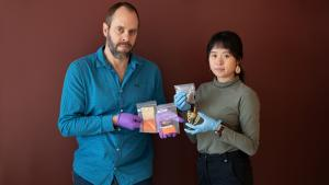 Lead poisoning prevention specialist Perry Cabot and Americorps fellow Judy Tan purchased local products and discovered high lead content.