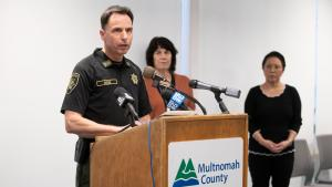 """Sheriff Mike Reese says it's eduction over enforcement of state """"stay home"""" order."""
