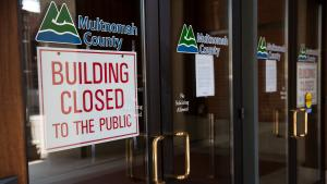 Multnomah Building closed to the public temporarily to slow spread of COVID-19