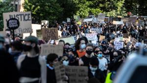 Demonstration in Portland June 2, 2020