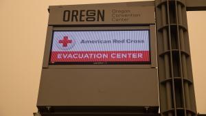 Red Cross Evacuation Center