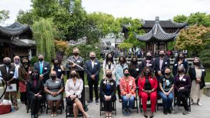 Area leaders rally against Asian-American bias incidents
