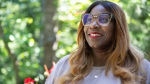 Lisa Saunders is the executive director of FaithBridge, a nonprofit organization dedicated to helping women — particularly Black women and women of color — emerge from trauma to reconnect in a life-transforming and faith-affirming way.