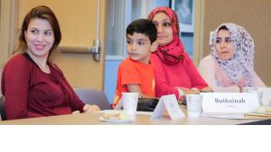 Public Transportation on the agenda of eighth class for new refugees at Catholic Charities
