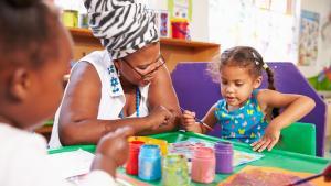 Teacher & Preschool Painting