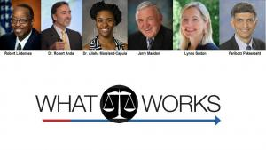 What Works in Public Safety Speakers and Logo