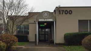 Animal Services building entrance