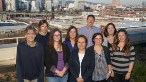 Photo of Auditor Jennifer McGuirk and her staff
