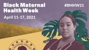 Black Maternal Health Week banner