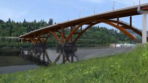 The new Sellwood Bridge will open in 2016.