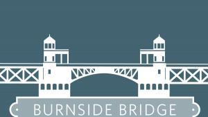 Burnside Bridge graphic.
