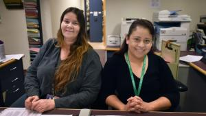 Communicable Disease staff at the Multnomah County Health Department.
