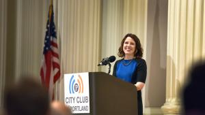 Chair Kafoury delivers her 2015 State of the County address on Friday, June 12