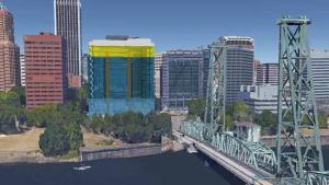 Conceptual Image of future Central Courthouse