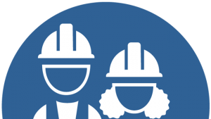 Icon of construction workers