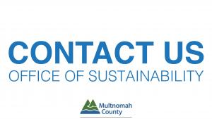 Contact the Office of Sustainability