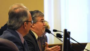 County Assistant Attorney Ken Elliot explains benefits of CM/GC method