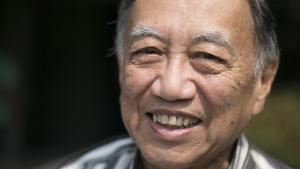 Dr. Pe Than Myint worked on addiction for more than 20 years in his native Burma before immigrating to the United States, where he works as an interpreter