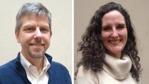 Dr. Paul Lewis and Dr. Jennifer Vines