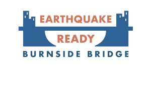 Earthquake Ready Burnside Bridge logo