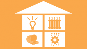 Icon for energy and weatherization services