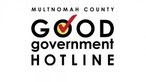 Good Government Hotline logo