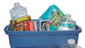 An emergency preparedness kit