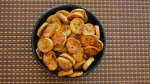 Oven Fried Plantains