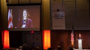 Chair Deborah Kafoury opens the What Works Conference