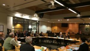 Lexi Moyer testifies to Metro Joint Policy Advisory Committee on Transportation (JPACT)