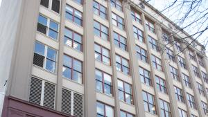 Gladys McCoy Health Building at SW Stark St. in Portland.