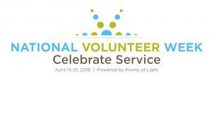 National Volunteer Week Points of Light
